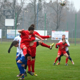 Sparing: MKS Kluczbork - Olimpia Kowary 2:3, 2 grudnia 2015