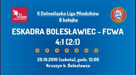 II Dolnośląska Liga Młodzików - 8 kolejka (29.10.2016)