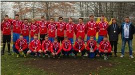 Czwarte miejsce juniorów w 1 Lidze Wojewódzkiej