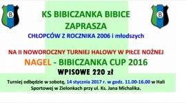 Rzutem na taśmę gramy w Bibiczanka Cup!