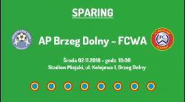 Sparing z AP Brzeg Dolny