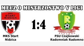 Start Nidzica - Radomniak 1:4