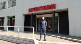 Nasz trener w Holandii !