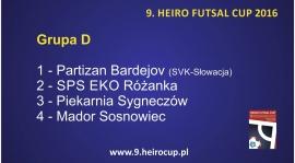 HEIRO FUTSAL CUP 2016!!! - GRUPY
