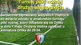 Amatorski turniej piłki nożnej