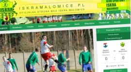 Już jest! Zapraszamy na nową stronę MKS ISKRA Małomice!