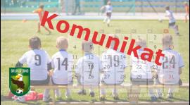 Żaki Dębno - podział na grupy