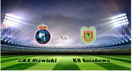 III kolejka. GKS Stawiski vs KS Śniadowo