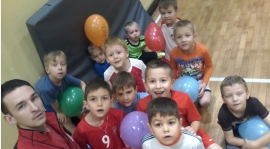 Zdjęcia z Poniedziałkowego treningu Przedszkolaków i Skrzatów!