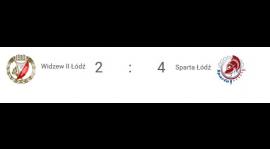9. kolejka: Derby dla Sparty! RTS Widzew II Łódź - Sparta Łódź 2:4 (1:2)