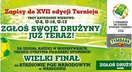 """Ostatni tydzień zapisów do turnieju """"Z Podwórka na Stadion o Puchar Tymbarku"""""""