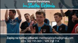 Trwają zapisy do charytatywnego turnieju - Memoriał im. Stacha Cichonia