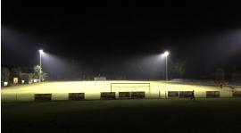 Sparing przy sztucznym oświetleniu i trening juniorów