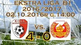 KOSA - Znicz 4-0 (2-0)