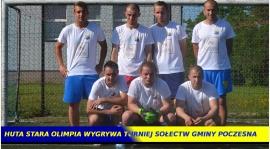 Huta Stara Olimpia wygrywa Turniej Sołectw Gminy Poczesna