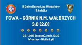 II Dolnośląska Liga Młodzików - 9 kolejka (05.11.2016)