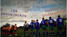 Inauguracja sezonu 2016/17 - LKS Zasów/Mokre - BODZOS PODGRODZIE