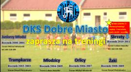 DKS Dobre Miasto zachęca młodzież do treningów