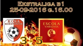 KOSA - ESCOLA 3 - 5 (3 - 1)