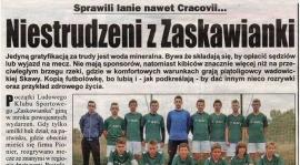 """[PISZĄ O NAS!] """"Niestrudzeni z Zaskawianki"""" - Małopolska Kronika Beskidzka"""