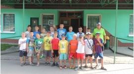 Obóz Sportowy Dzieci w Głuchołazach.