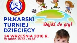 Piłkarski turniej dziecięcy dla Twojego dziecka!