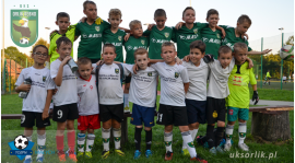 Turniej żaków w Dębnie - Liga Młodych Orłów
