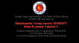 Zakończenie I rundy sezonu 2016/2017!!!