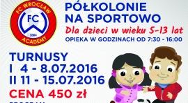 ZAPRASZAMY NA PÓŁKOLONIE Z FC WROCŁAW ACADEMY! 881-001-156