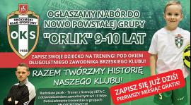 """Rusza nabór do nowo powstałej grupy """"Orliki"""""""
