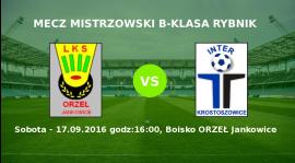 Zapowiedź meczu Orzeł Jankowice - Inter Krostoszowice
