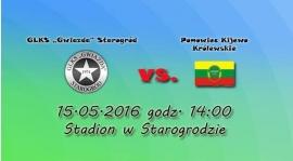 Mecz z Pomowcem Kijewo w niedzielę o godzinie 14