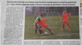 """""""Krwawe"""" derby. AKS Niwka górą w starciu z Górnikiem"""