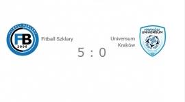 C klasa gr. I: Fitball Szklary - Universum Kraków 5:0