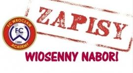 ROZPOCZĄŁ SIĘ WIOSENNY NABÓR FC WROCŁAW
