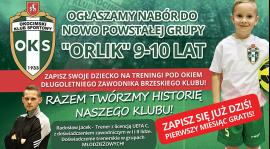 """""""Orliki"""" po pierwszym treningu"""
