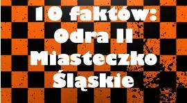 Szybki szpil: 10 faktów o rezerwie Odry Miasteczko Śląskie