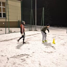 Pierwszy trening po przerwie zimowej - Orlik Dębno, 19.01.2017r.