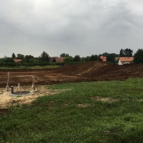 Budowa stadionu - sierpień 2016