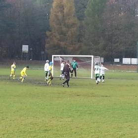 Liga młodzika: GLKS Osielsko - Wisełka Bydgoszcz (6.11.16)
