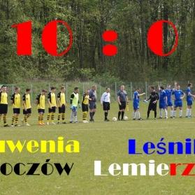 Juwenia Boczów - Leśnik Lemierzyce
