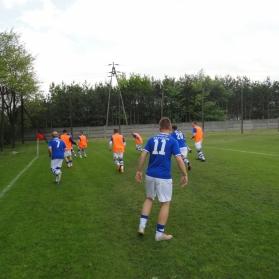 Jeden punkt po dobrym meczu w Strzałkowie 1-114.05.2016 rok.