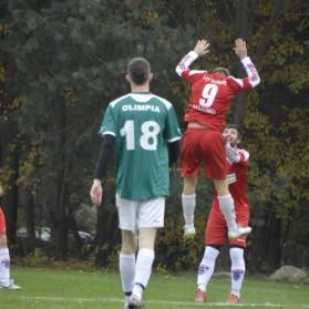 Kol. 11 Olimpia Bukowinka - Sokół Kaszowo 0:6 (06/11/2016)