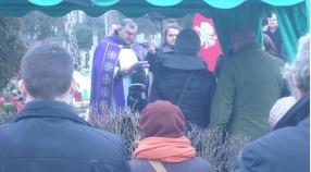 Pogrzeb trenera Leszka Rzepki