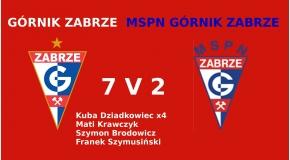 II liga okręgowa rocznik 2006 Górnik Zabrze - MSPN Górnik Zabrze 7:2