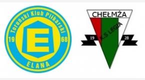 Elana Toruń - Legia Chełmża 3:0
