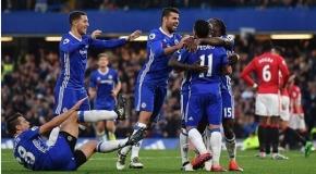 Chelsea förnedrade Manchester United 4-0