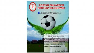 Zostań piłkarzem KS Fortuna Głogówek