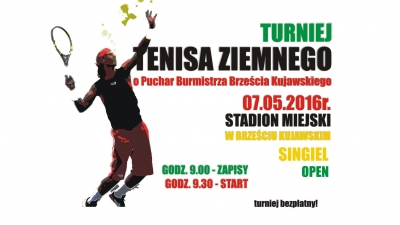 Turniej Tenisa Ziemnego już w sobotę w Brześciu!