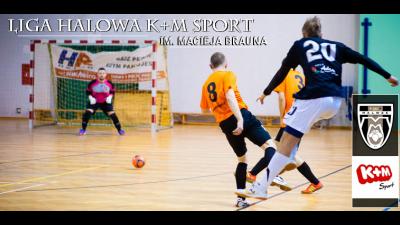 Liga Halowa K+M Sport im. Macieja Brauna: Wystartowaliśmy!